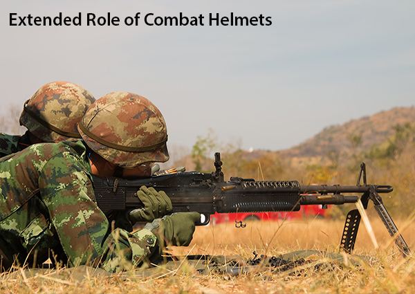 Extended Role of Combat Helmets