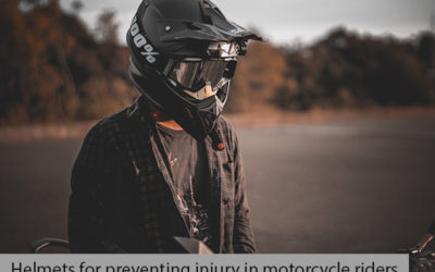Helmets For Preventing Injury In Motorcycle Riders