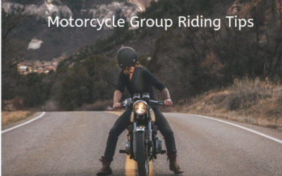 Motorcycle Group Riding Tips