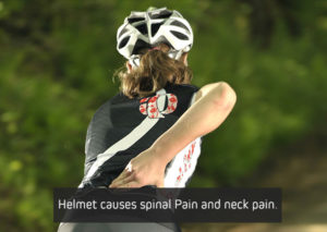 Helmet-causes-spinal-Pain-and-neck-pain