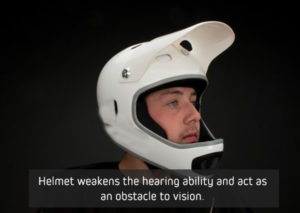 Helmet-weakens-the-hearing-ability-and-act-as