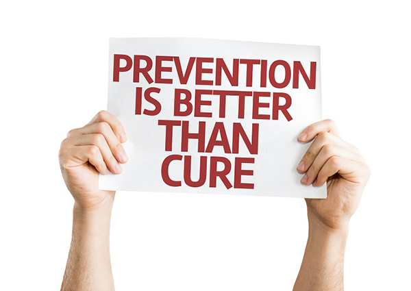 Prevention is Better than the Cure