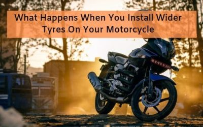 What Happens When You Install Wider Tyres On Your Motorcycle