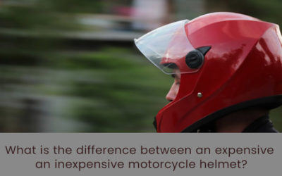 What is the Difference Between An Expensive An Inexpensive Motorcycle Helmet
