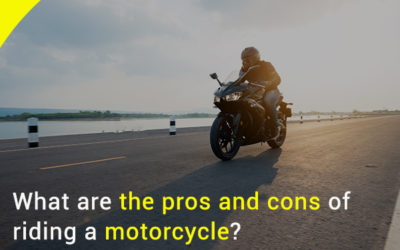 What are Pros and Cons of Riding Motorcycle