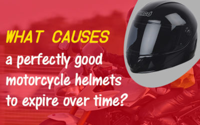 What Causes a Perfectly Good Motorcycle Helmets to Expire Over Time