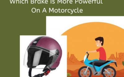 Which Brake Is More Powerful On A Motorcycle