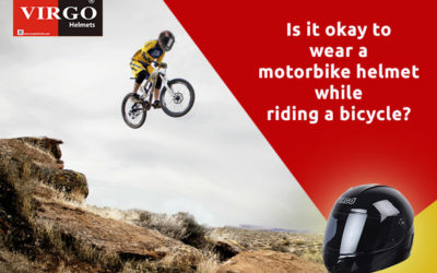 Is It Okay To Wear A Motorbike Helmet While Riding A Bicycle