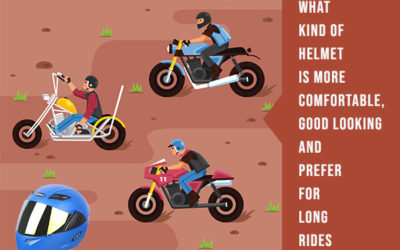 What Kind Of Helmet Is More Comfortable, Good Looking And Prefer For Long Rides